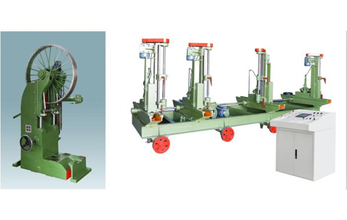 MJ3110B型木工带锯机(42寸)配MJ329/2DE-L(G)型自动跑车(42寸)组合
