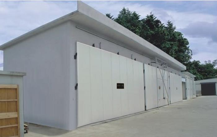 MYHZ型蒸汽加热木材干燥窑(土建结构)